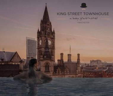 artist's impression of the King Street Townhouse rooftop infinity pool