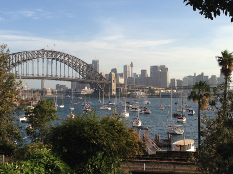 Lavender Bay at Kirribilli