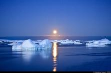 Clair de lune en Antarctique
