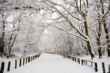 CE6EP0 Winter snow, Kent, England, UK