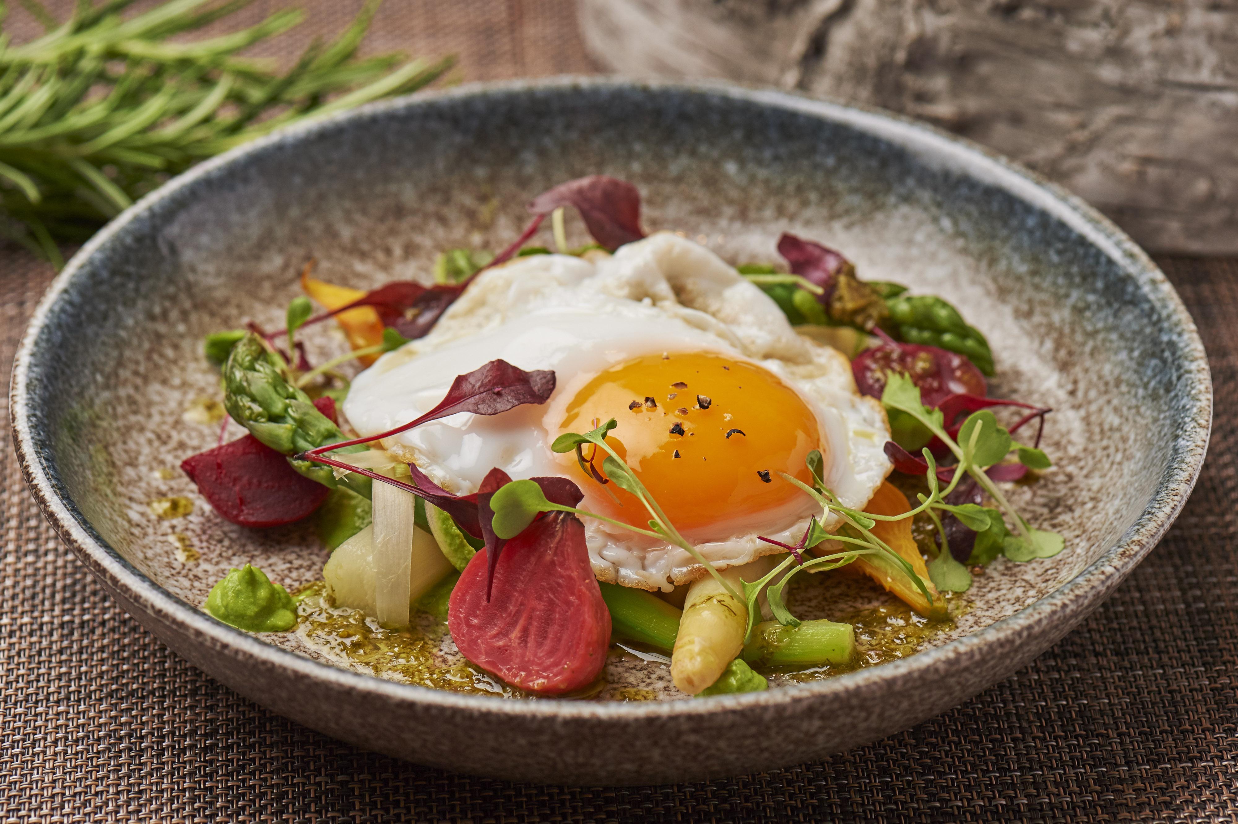 Try the new Summer Kitchen Garden menu at the Blue Boar Restaurant ...
